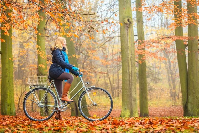 kurtka jesienna na rower