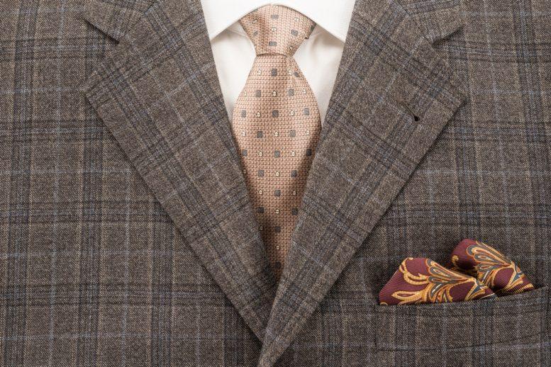 krawat do marynarki